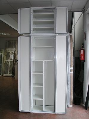 Armadietti e copricaldaie euroinfissi sabellico - Mobili per esterni in resina ...